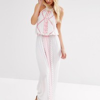 Matthew Williamson | Butterfly By Matthew Williamson Strappy Embroidered Beach Dress at ASOS