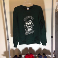 Gender Roles Sweatshirt Forest Green from FLAVNT STREETWEAR