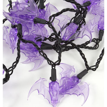 Purple LED Bat String Lights – Spirit Halloween