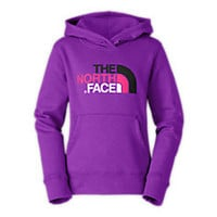 GIRLS' MULTI HALF DOME PULLOVER HOODIE