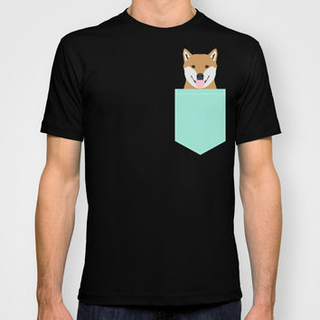 Cassidy - Shiba Inu gifts for dog lovers and cute Shiba Inu phone case for Shiba Inu owner gifts T-shirt by PetFriendly | Society6