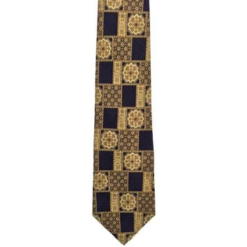 Pierre Cardin Foulard Wide Silk Tie - Black
