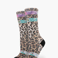 Stance Meow Yeow Everyday Tomboy Athletic Womens Socks Natural One Size For Women 25898342301