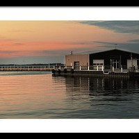 Sandusky Bay Reflections 3 Framed Print