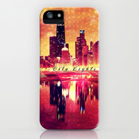 City Lights - for Iphone iPhone & iPod Case by Simone Morana Cyla