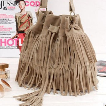 Hot Sale Simple Design Vintage Tassels One Shoulder Bags [6580917895]