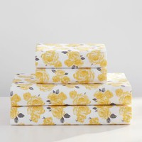 The Emily & Meritt Marigold Rose Sheet Set