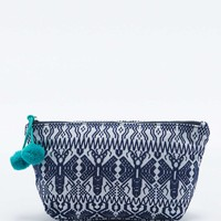 Tapestry Cosmetic Case in Navy - Urban Outfitters