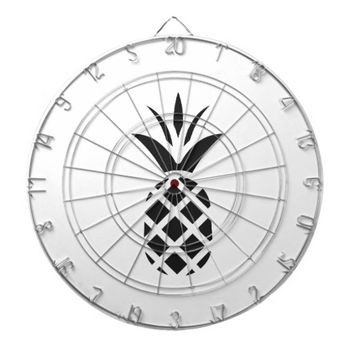 Black Pine Apple Dartboard