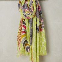 Kampos Scarf by Anthropologie in Green Size: One Size Scarves