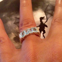 Haunted Djinn ~ Enchanted Vintage Dragon Ring JINN ~Wicca~Pagan~Angelic talisman~portal to LOVE & Protecting