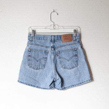 Vintage High Waisted Shorts / Levis Shorts Denim Shorts Festival Shorts Jean Shorts 90s Shorts Grunge Preppy 1980s Spring Summer 80s Shorts