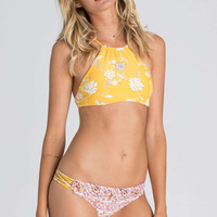 Festival Floral Hi Neck Billabong Swim Set