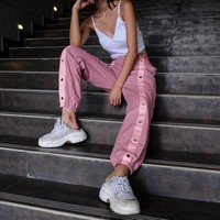 Pink Ring Joggers