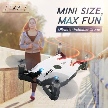 Jjrc H49wh Ultra Thin Foldable Drones Selfie Drone With Camera 720p Mini Rc Drone Remote Control Toys For Children Rc Helicopter