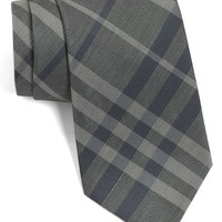 Burberry London Woven Silk & Linen Tie
