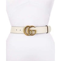 GUCCI classic style street fashion simple and smooth buckle belt