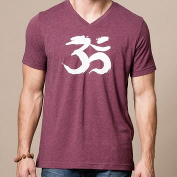 TriBlend V-Neck OM Tee