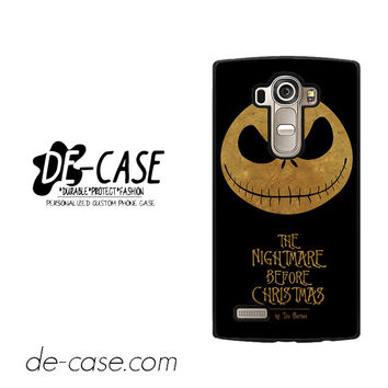 The Nightmare Before Christmas By Tim Burton For LG G4 Case Phone Case Gift Present YO
