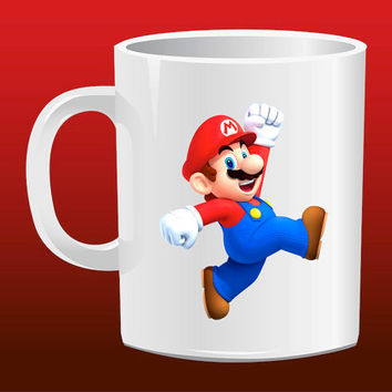 Super Mario Bross for Mug Design