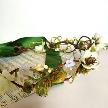 Spring Woodland Crown