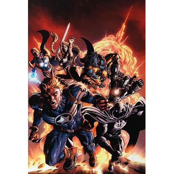 Secret Avengers #2 - Limited Edition Giclee on Stretched Canvas on Canvas by Marko Djurdjevic and Marvel Comics