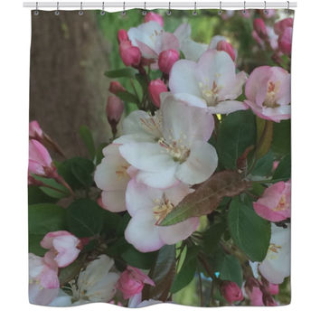 Cherry Blossoms 2 - Shower Curtain