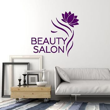 Vinyl Wall Decal Beauty Salon Hair Woman Decoration Idea Decor Art Stickers Mural (ig5630)