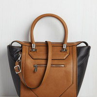 Minimal Cabaret Crawl Bag in Chestnut by ModCloth