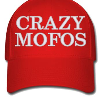 crazy mofos Bucket Hat, - Flexfit Baseball Cap