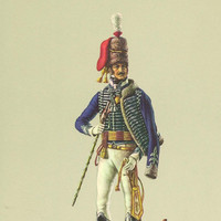 7th Regiment of Light Dragoons (Hussars) British Uniforms of the Napoleonic Wars Color Print Patrician Art Products