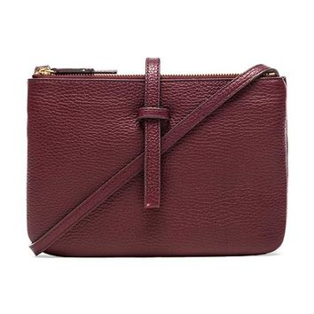 Annabel Ingall Jojo Crossbody in Wine