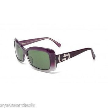 NEW AUTHENTIC GIORGIO ARMANI GA 511/S COL CJJFX PURPLE PLASTIC SUNGLASSES