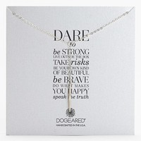 Women's Dogeared 'Dare To' Spike Y-Necklace (Nordstrom Exclusive)