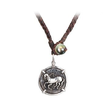 Trojan Coin Necklace