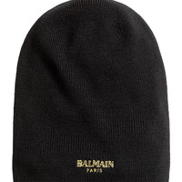 Ribbed Wool Hat - from H&M