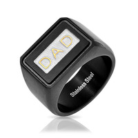 Bling Jewelry Dear Dad Ring