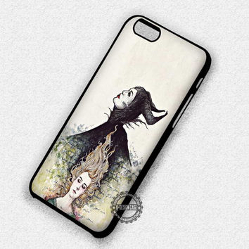 Her Past Art - iPhone 7 Plus 6 SE Cases & Covers