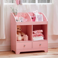 Teamson Kids - Windsor Cubby Storage - Pink