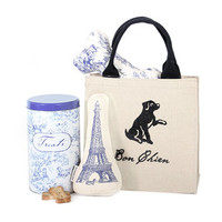 Parisian Toile Gift Tote-Harry Barker, Inc.
