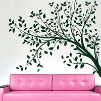 Wall Decals  Tree  Decal Vinyl Sticker Bathroom Shower Kitchen Window Baby Children Nursery Bedroom Room Decor Home Decor Art Murals MN189