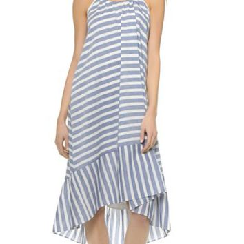 Line Dry Acacia High Low T Back Dress