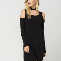 EYESHADOW Cold Shoulder Dress | Short Dresses