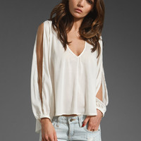 Lovers + Friends Daydream Blouse in Ivory from REVOLVEclothing.com