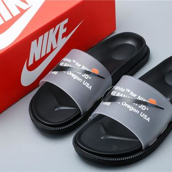 Off White x Nike Slipper Beach Shoes Size 36-44