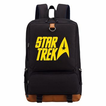 star trek Spock  backpack Men women's boy  Student School Bags travel Shoulder Bag Laptop Bags bookbag