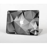 The Vector Black & White Abstract Connect Pattern Skin Set for the Apple MacBook Pro 13""