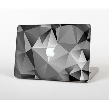 "The Vector Black & White Abstract Connect Pattern Skin Set for the Apple MacBook Pro 13"" with Retina Display"