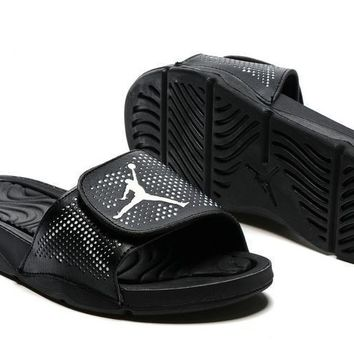 Nike Jordan Hydro V Retro Black Sandal Sandals Slipper Shoes Size Us 7 11 | Best Deal Online