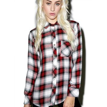 TACOMA DOGWOOD FLANNEL SHIRT
